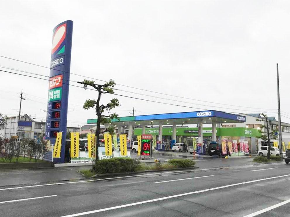コスモ石油販売株式会社 中四国カンパニー_セルフステーションあけぼの_外観