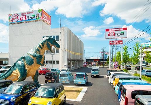 坂井モーター株式会社_軽自動車専門店 軽ランド_外観