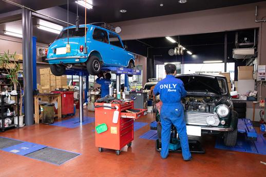 有限会社御幸企画_DO-TETSU_自動車整備風景